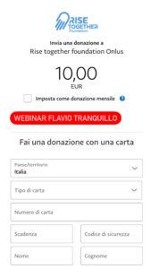 Webinar Solidale con Flavio Tranquillo